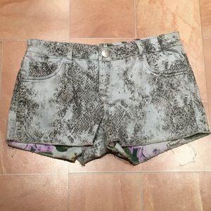Pants - Reversible shorts